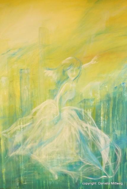 Versunken, Acryl auf Leinwand 60 x 80