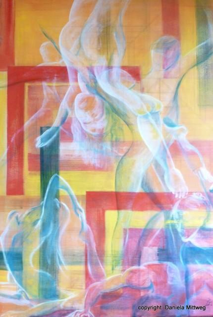 fragíl, Acryl auf Leinwand 60 x 80
