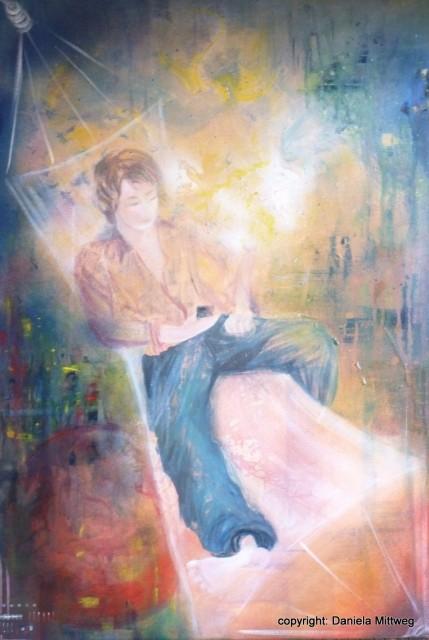 Chill me, Acryl auf Leinwand, 60 x 80